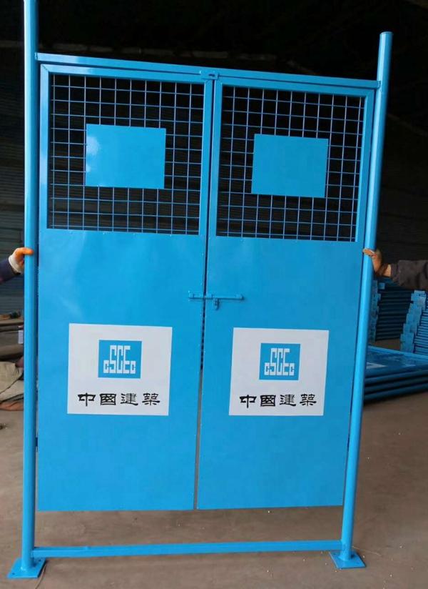施工工地电梯防护门