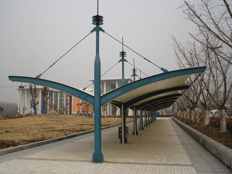 钢结构长廊