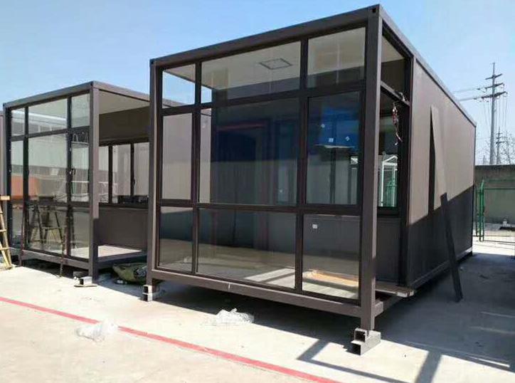 玻璃幕墙集住人装箱