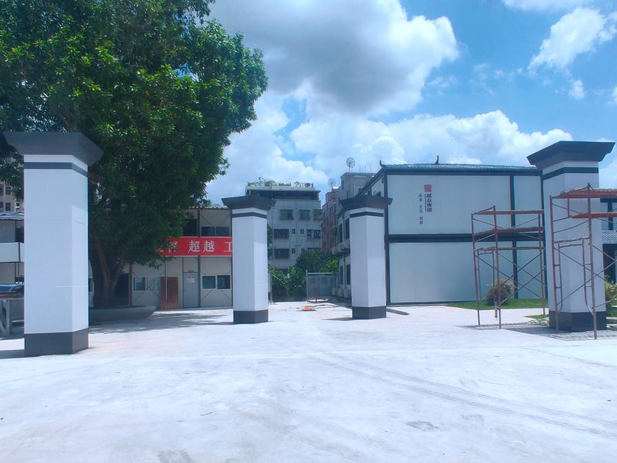钢结构工地大门门柱