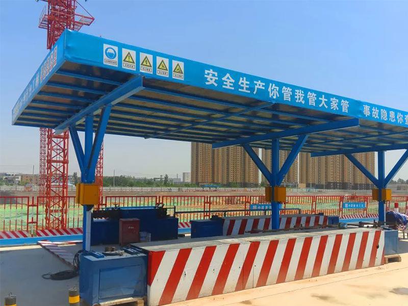 单立柱钢筋加工棚QL-2